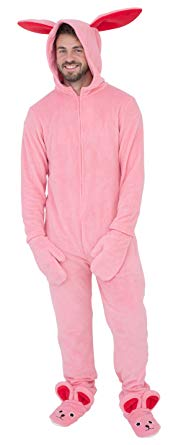 Adult onesie pajamas- Bunny Suit from A Christmas Story