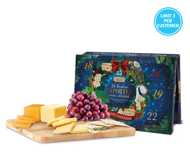 Aldi Cheese Holiday Advent Calendar