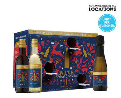 Holiday Advent Calendar Aldi Wine