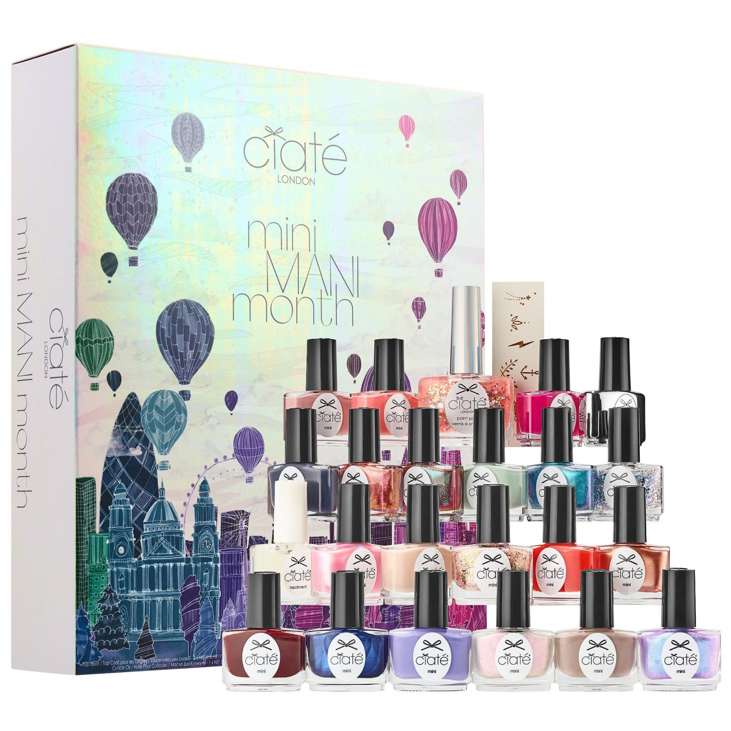 Holiday Advent Calendar- Ciate Montly Mani