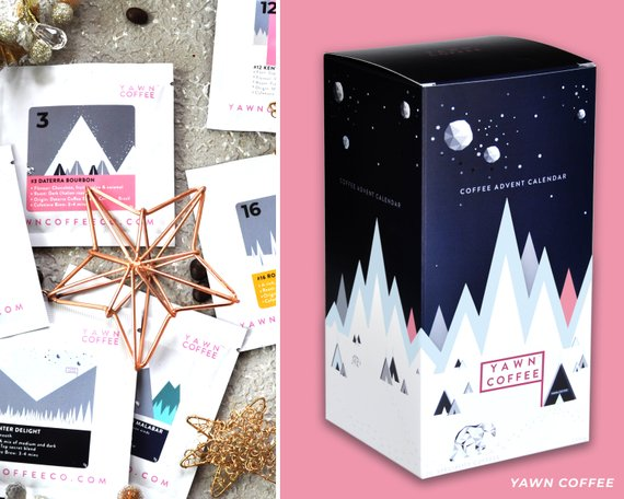 Coffee Holiday Advent Calendar by Yawn Coffee