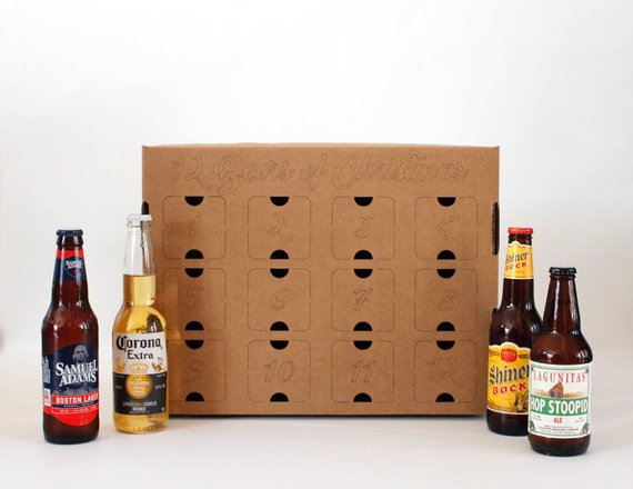 DIY Holiday Beer Advent Calendar