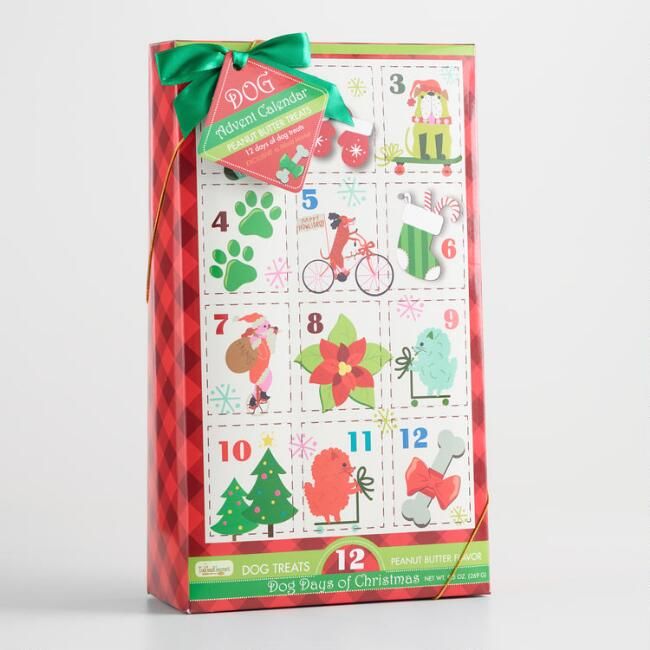World Market Dog Treat Holiday Advent Calendar