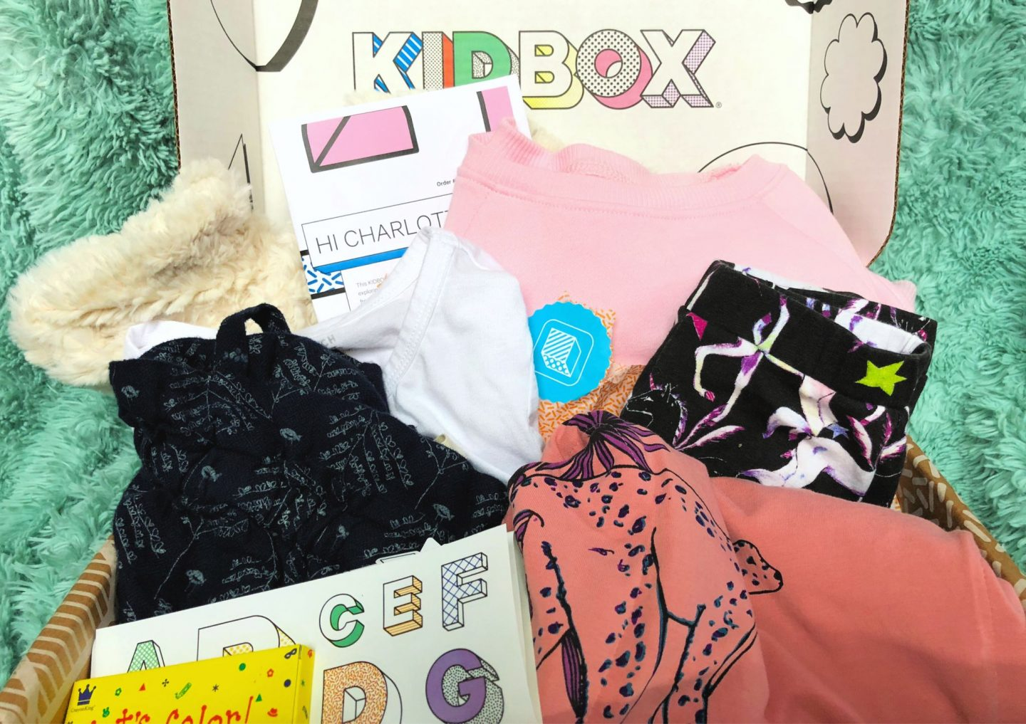 KIDBOX subscription box for kids clothing