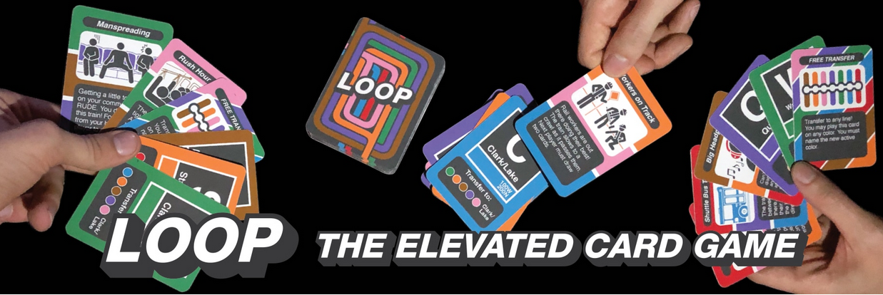LOOP Chicago Transit-themed Card Game