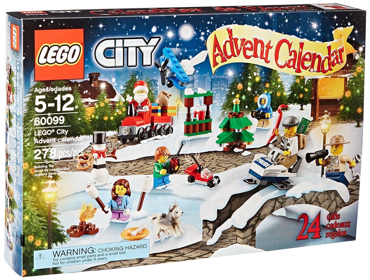Lego City Holiday Advent Calendar