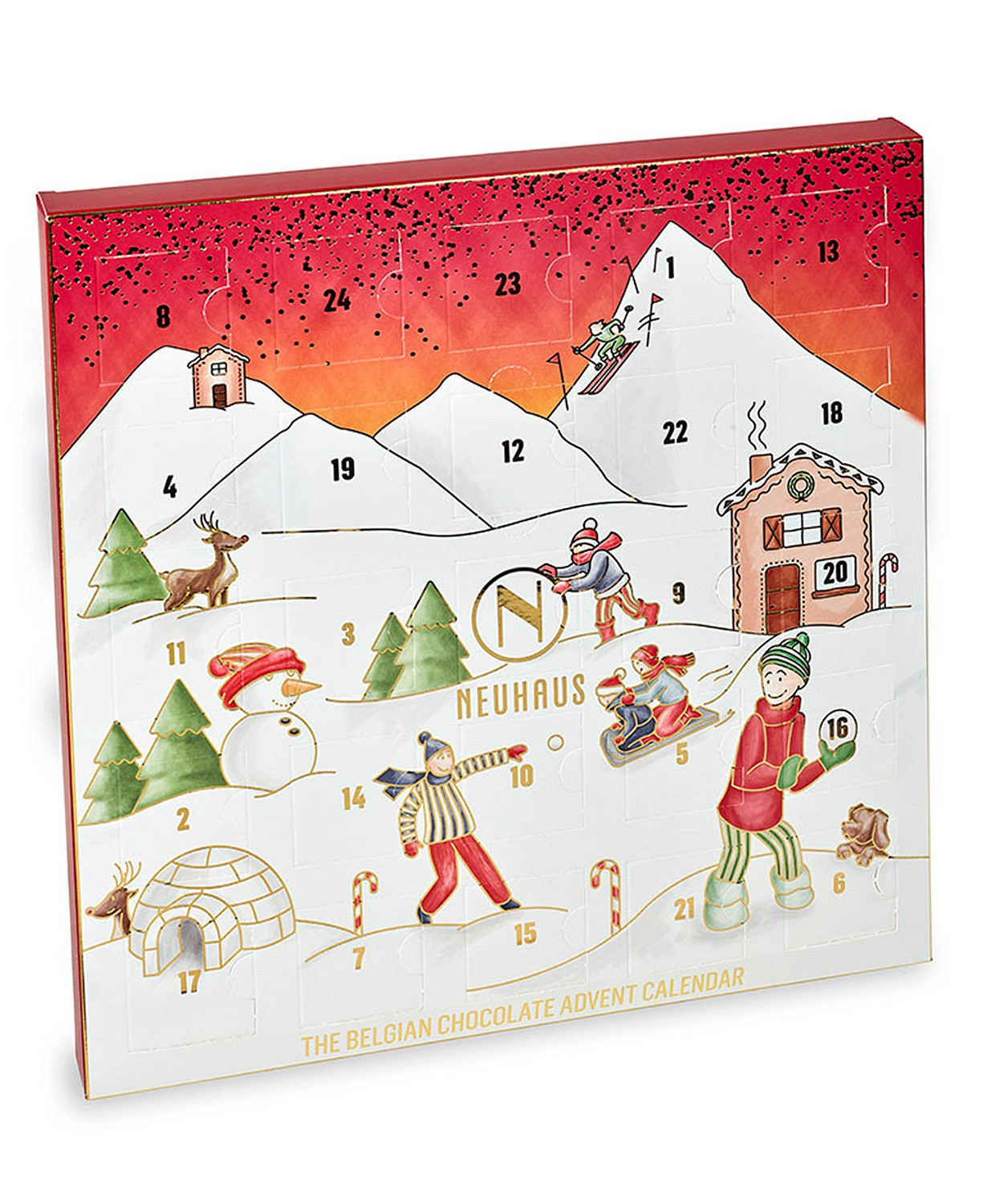 Neuhaus Chocolate Holiday Advent Calendar
