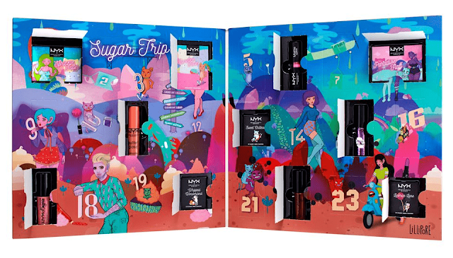 NYX Professionals Hoilday Advent Calendar