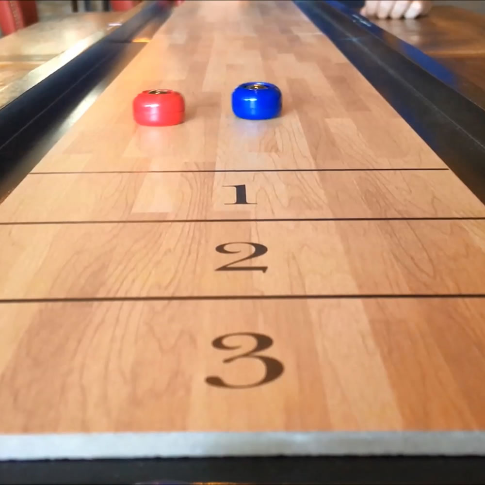 Pub Game Tabletop Shuffleboard