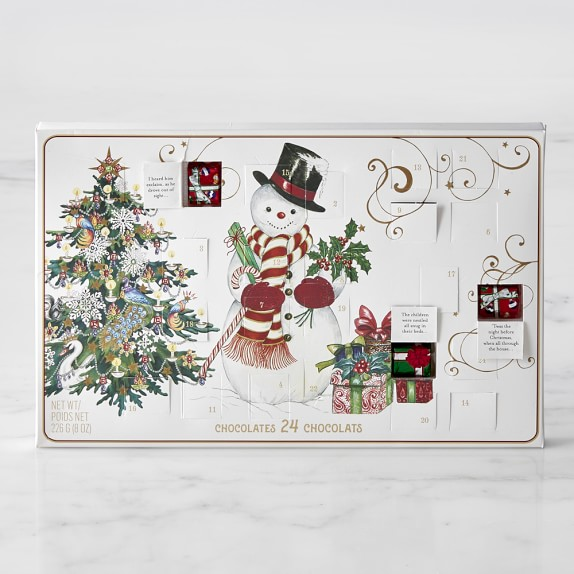 Chocolate Holiday Advent Calendar from Williams Sonoma