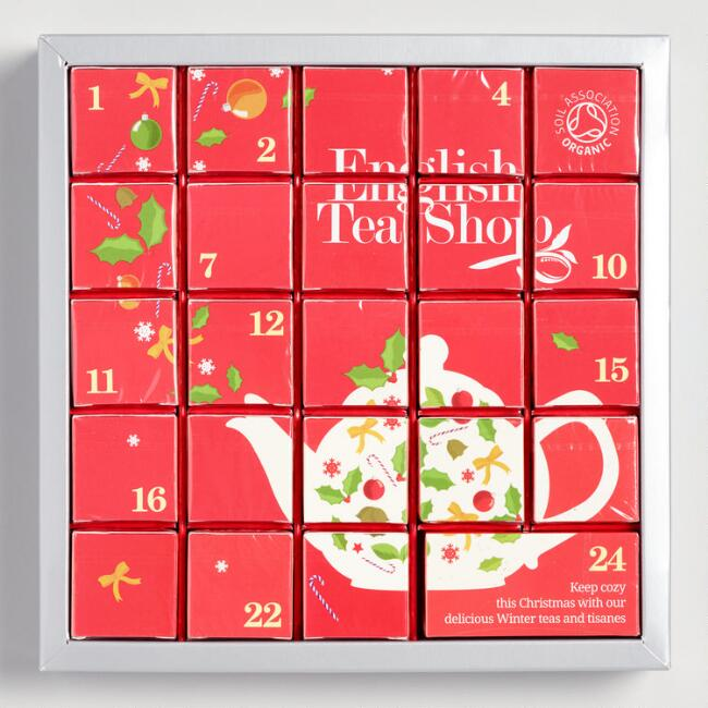 Tea Advent Calendar from World Market