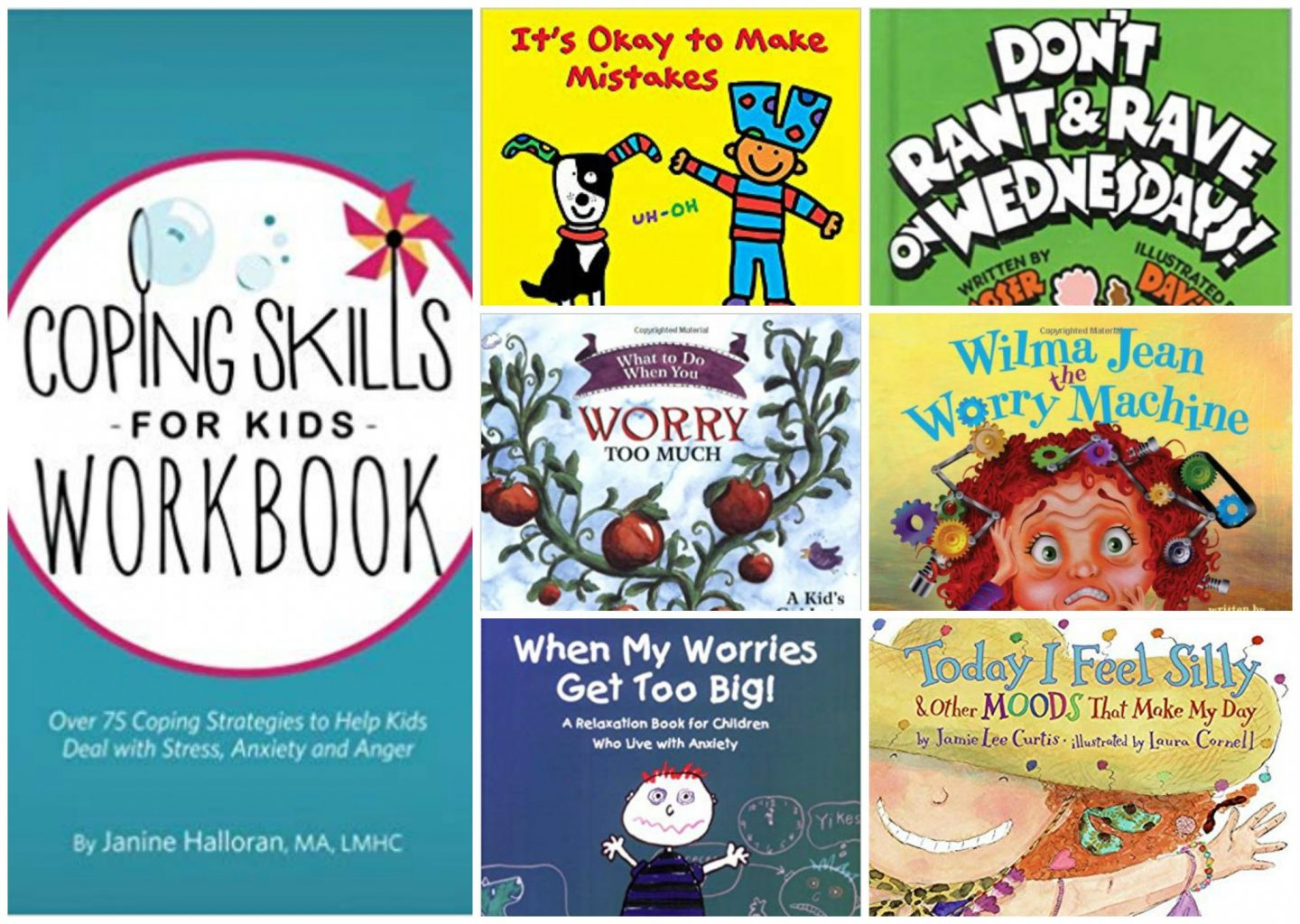 Books for kids to deal with anxiety
