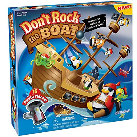 Top Game of 2018- Don't Rock the Boat