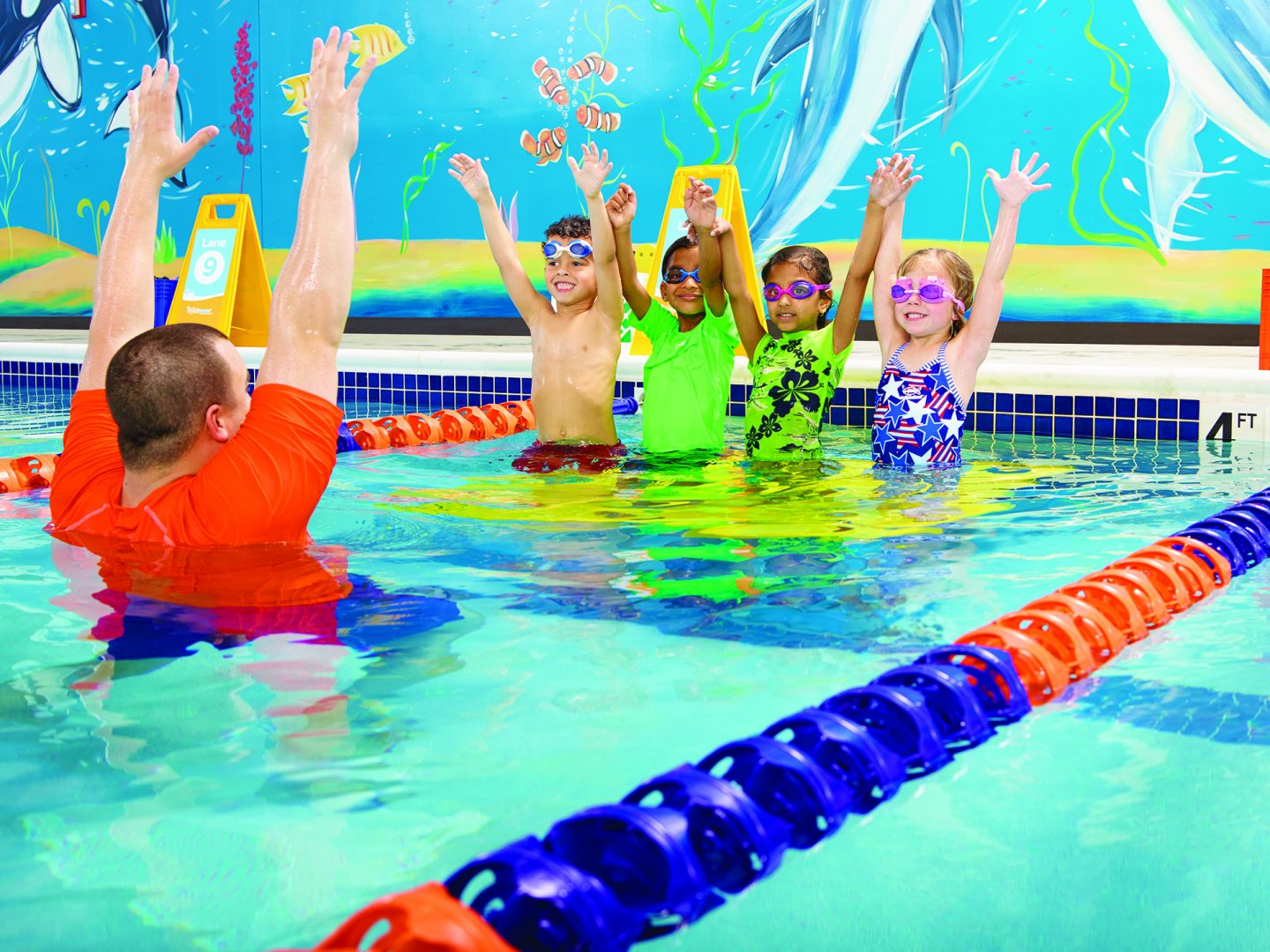 Goldfish Swim School- swim lessons build confidence