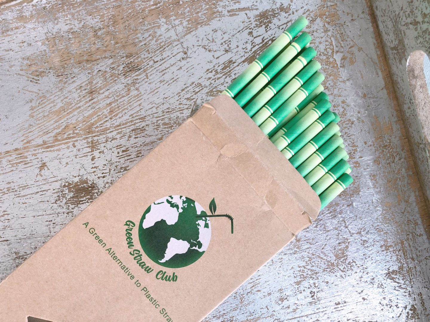 Green Straw Club Paper