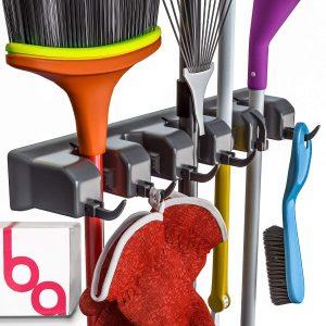 Broom Holder and Garden Tool Organizer- Amazon Best Seller