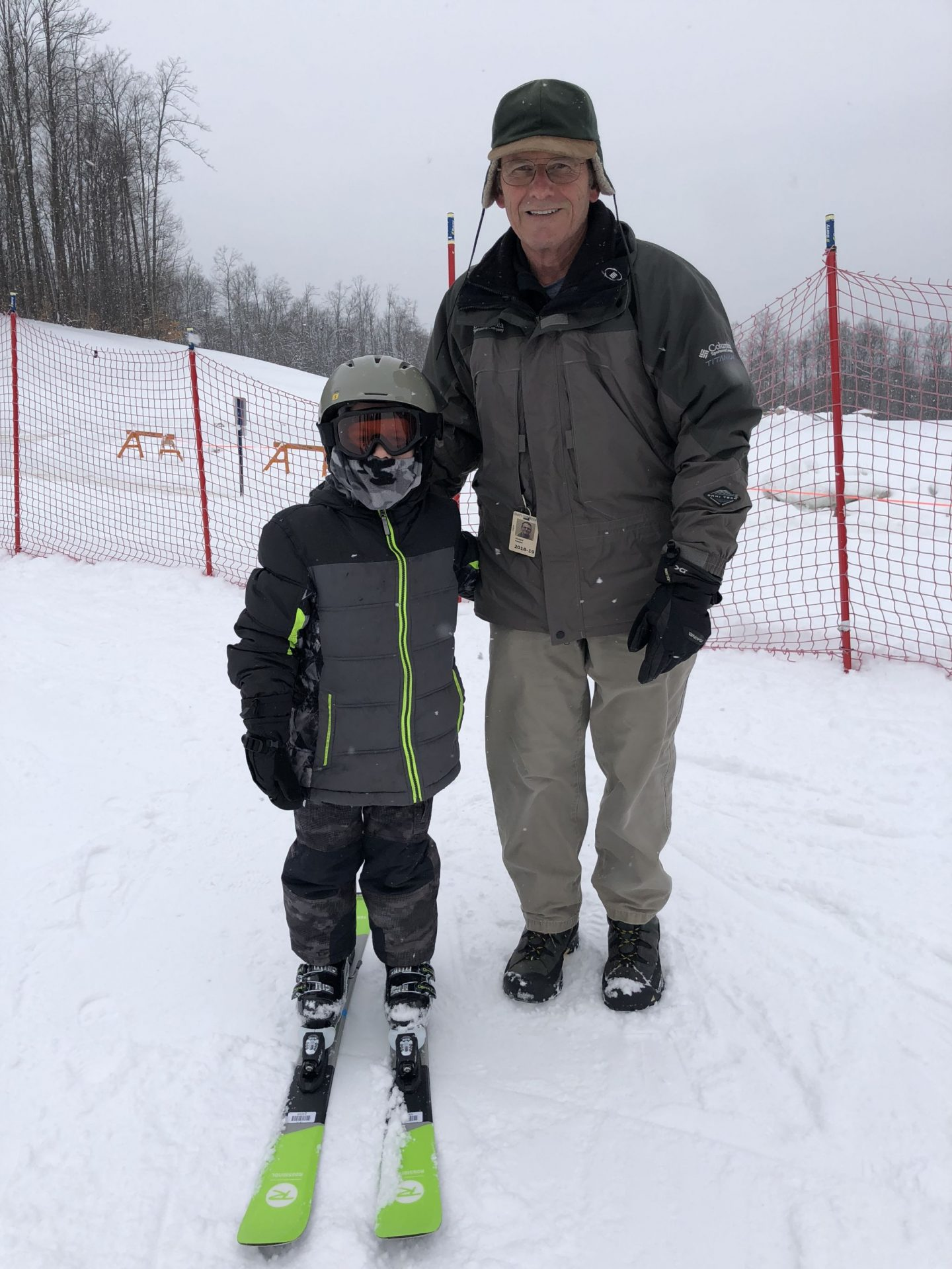 Skiing with kids in Michigan
