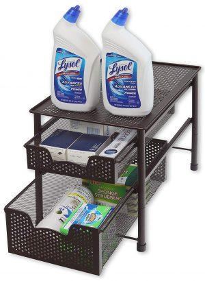 Simple Houseware Sliding Basket Organizer- Amazon Best Seller