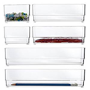 Stori Clear Plastic Organizers- Amazon Best Seller