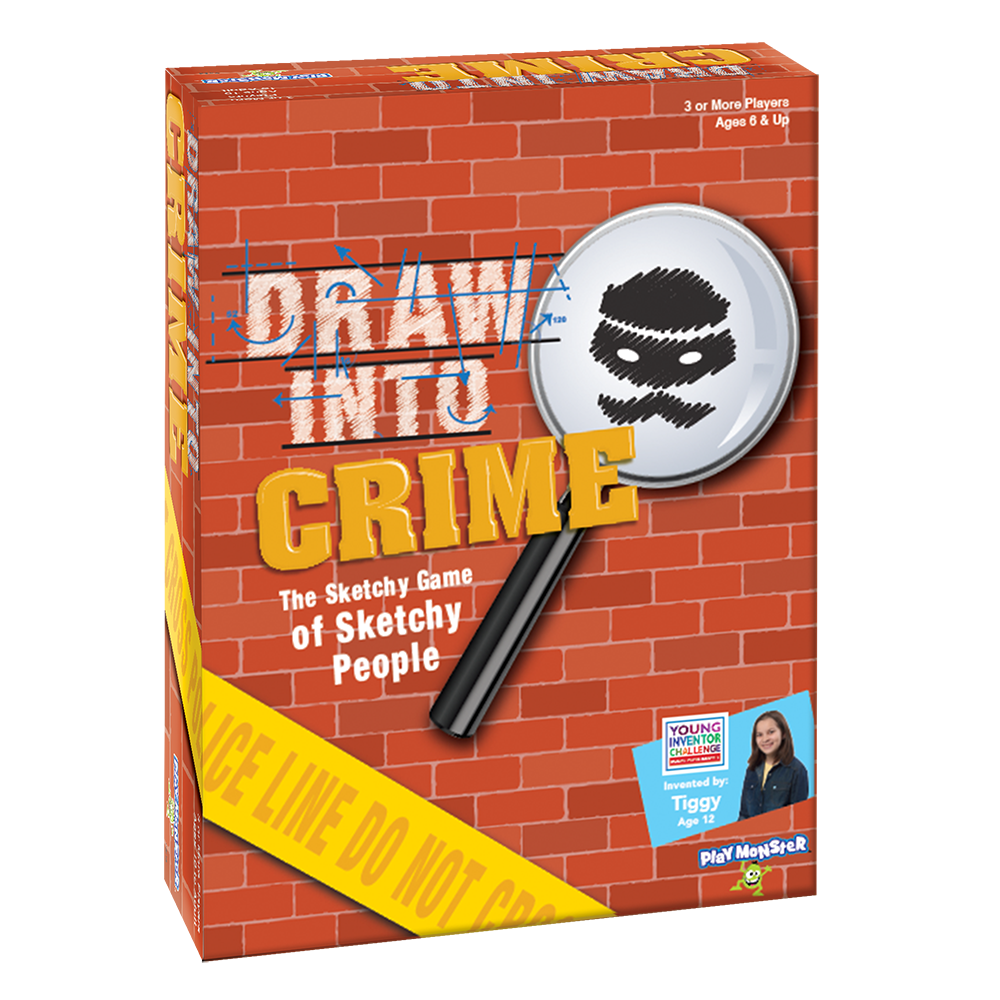 Top Holiday Game from PlayMonster- Draw Into Crime