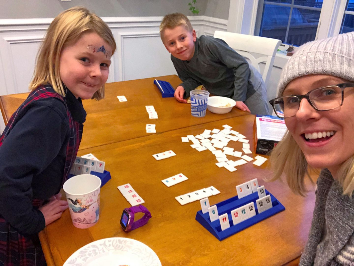 Rummikub- Game for the family gatherings