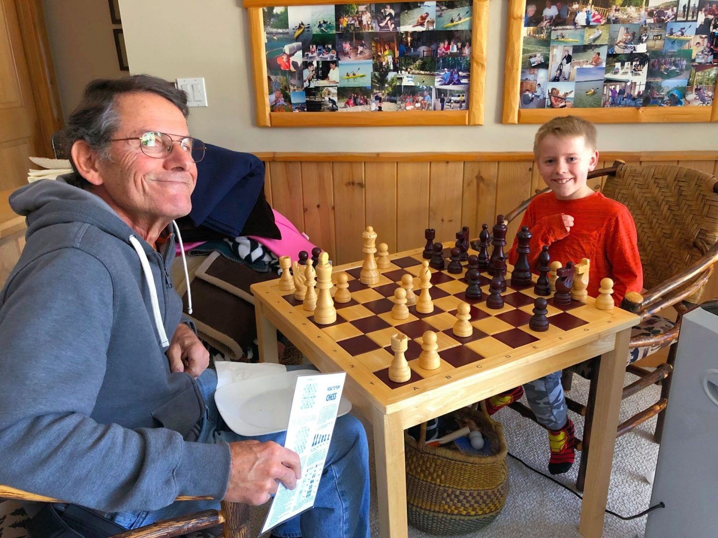Chess as an alternative to video games