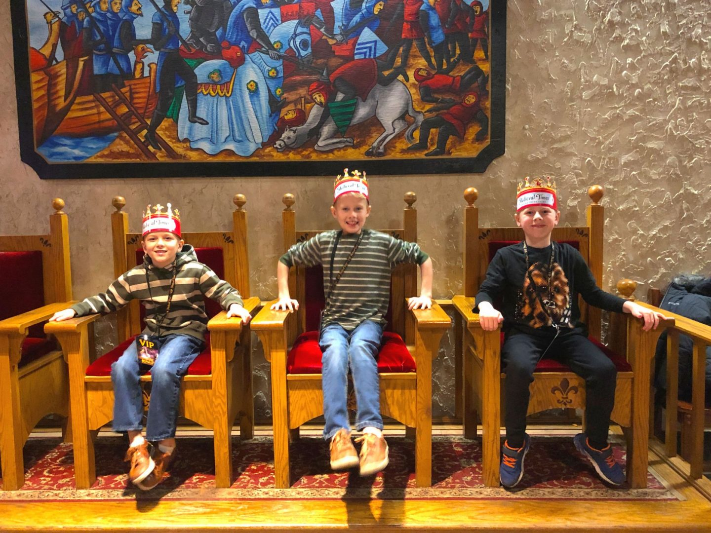 Medieval Times Thrones