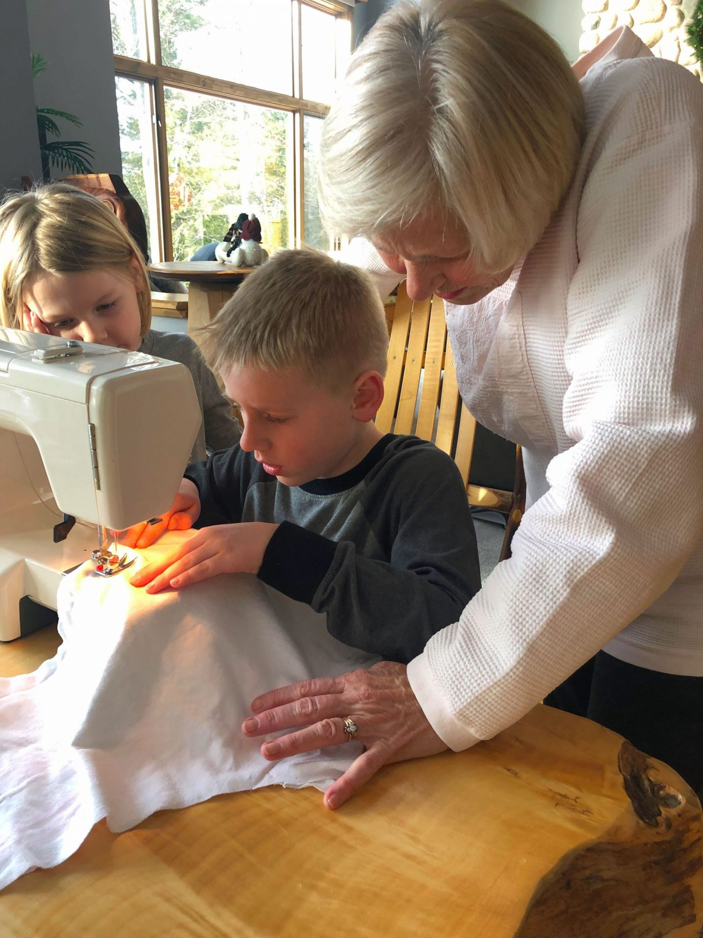 Alternative to Video Games for Kids- Sewing
