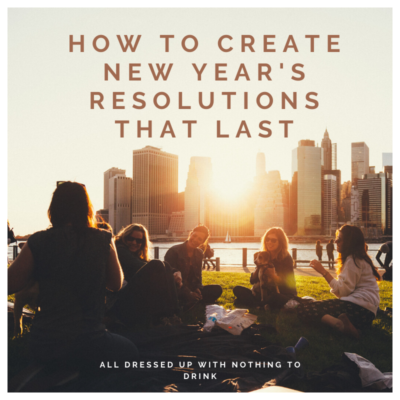 Create New Years Resolutions