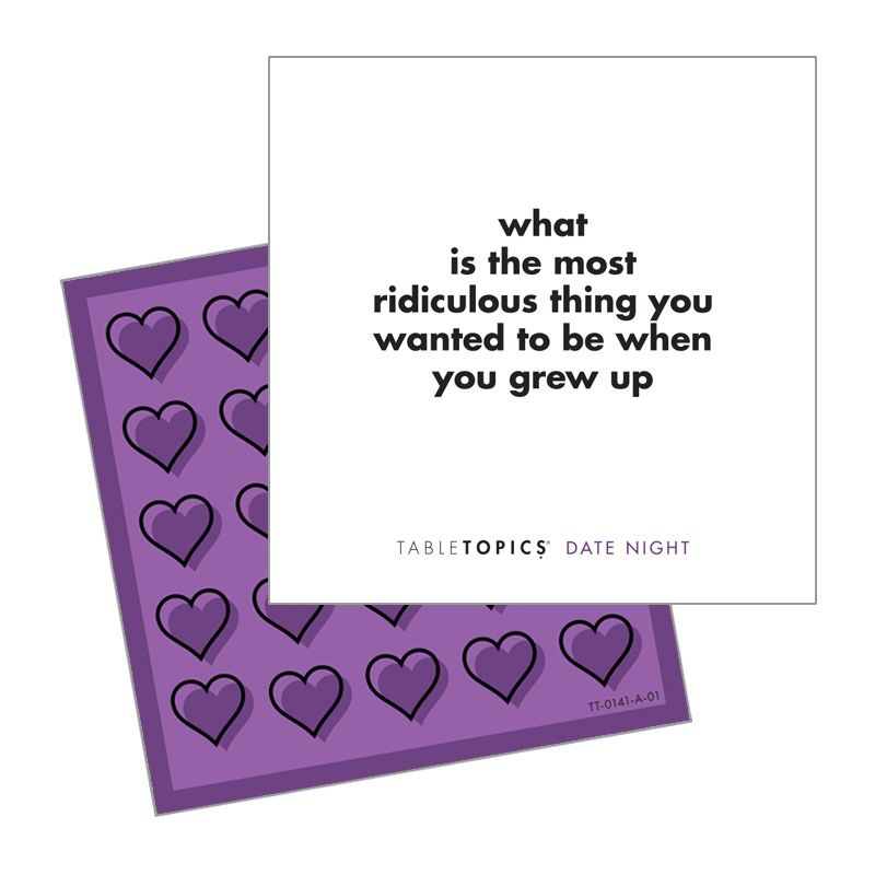 Date Night Table Topics Valentine's Day Gift
