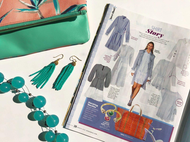 Spring dress trend- O Magazine