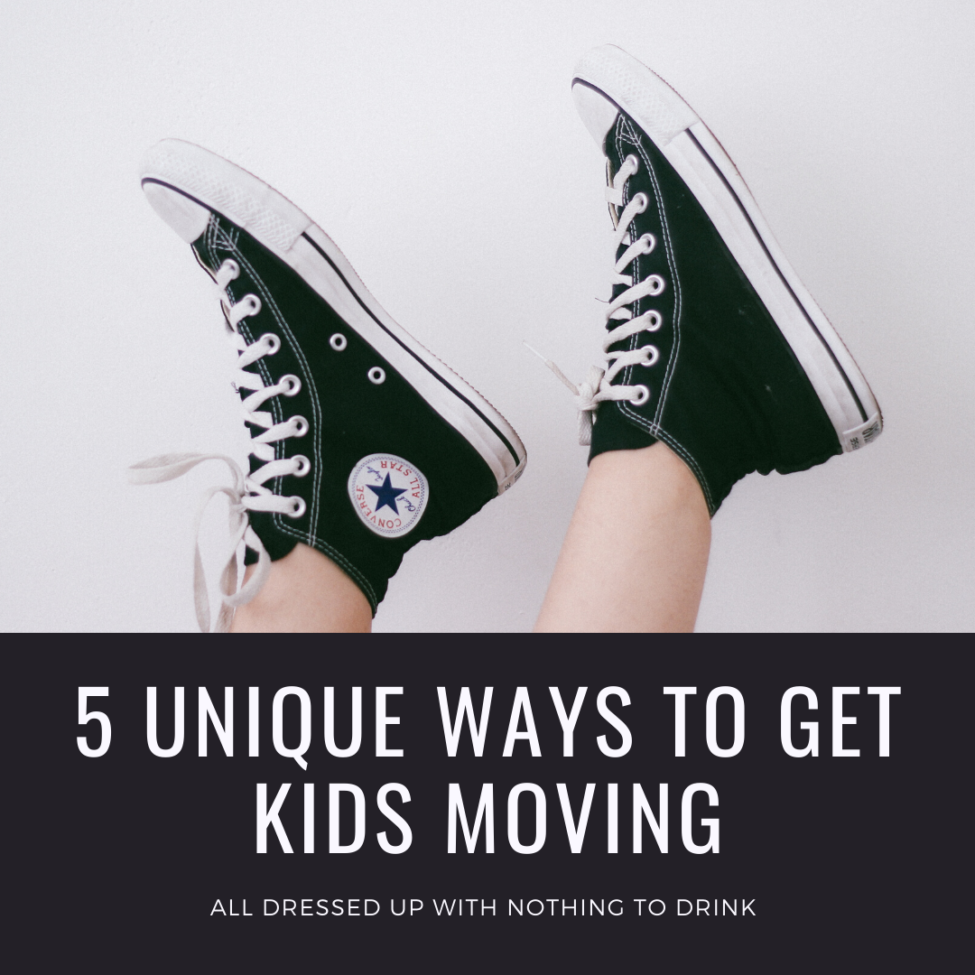 Get kids moving during quarantine