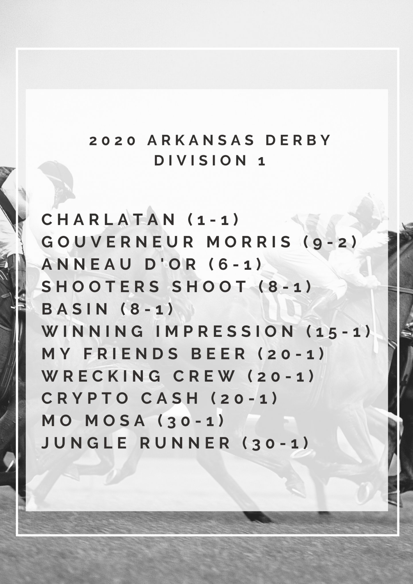 Arkansas Derby Division 1