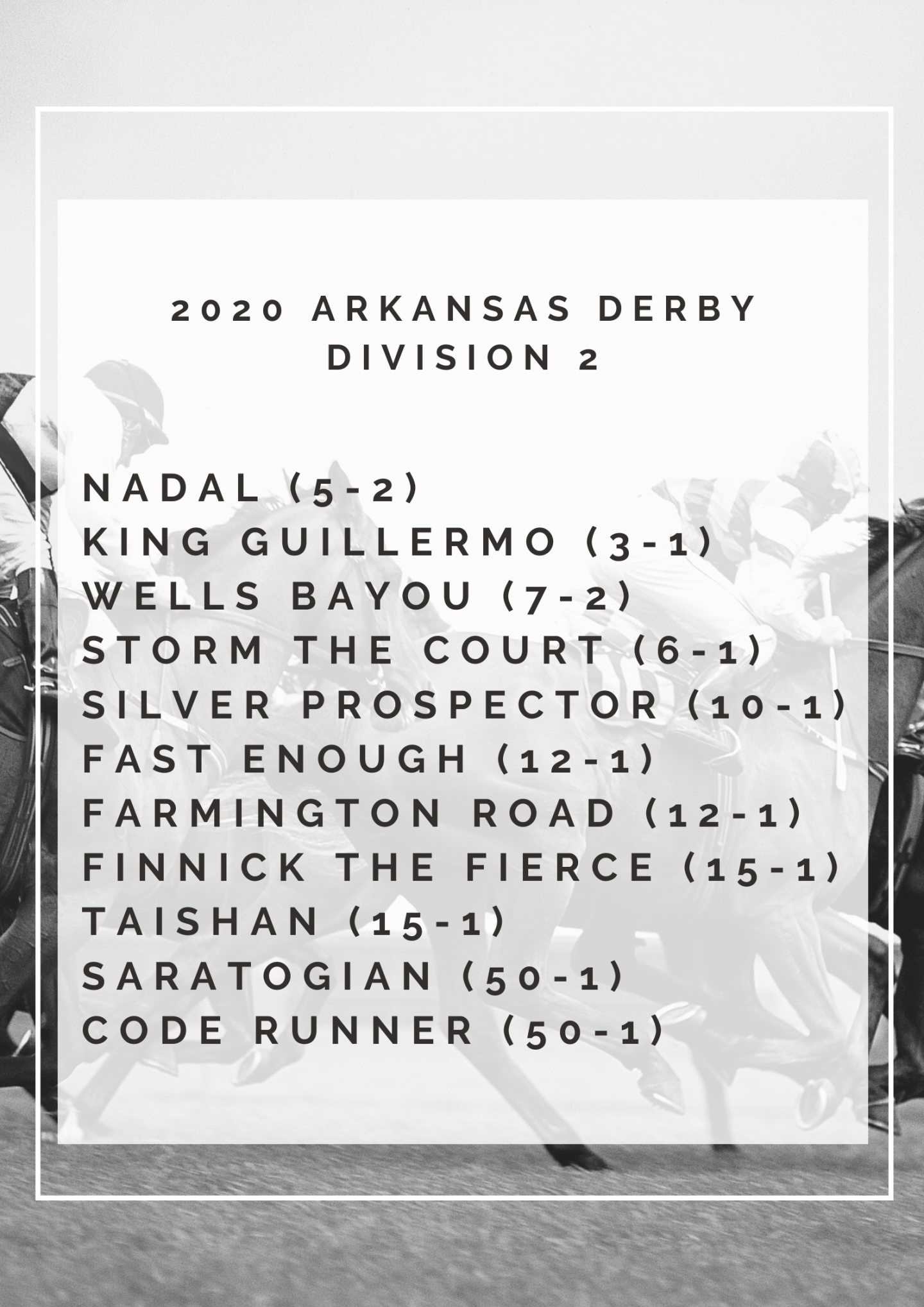 Arkansas Derby Division 2
