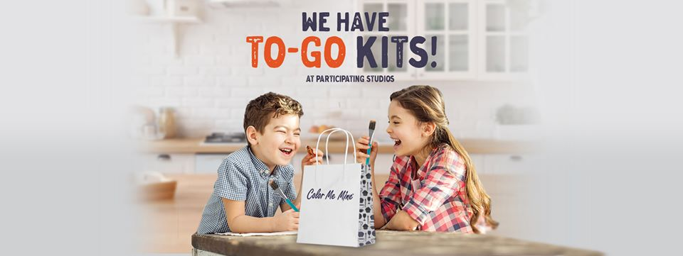 To go painting kits