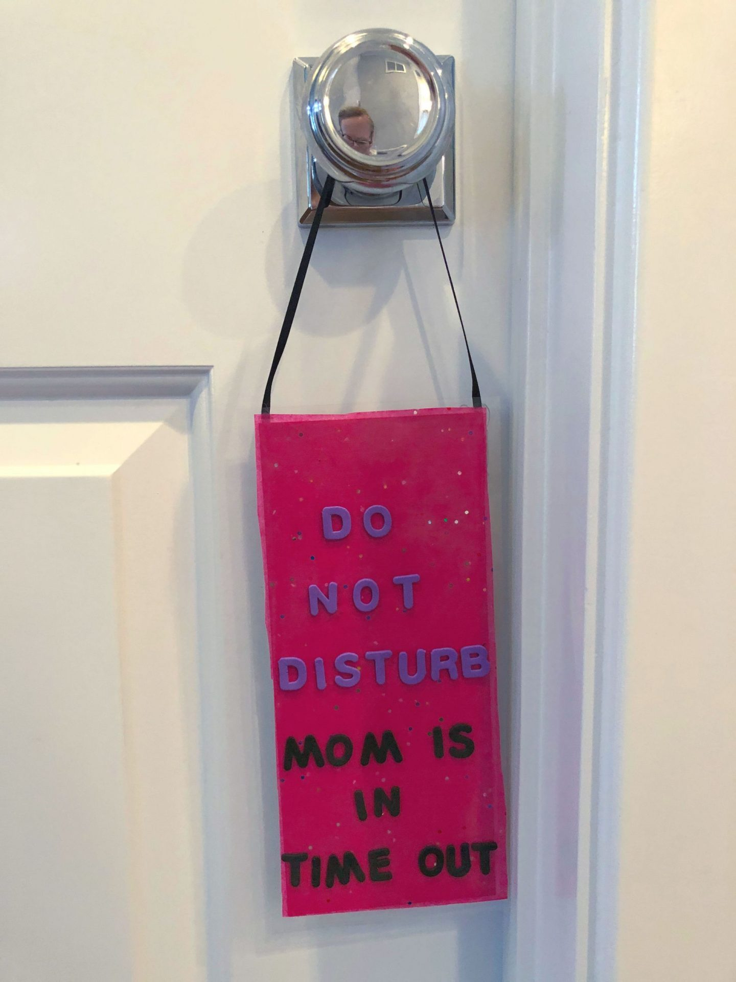 Mother's Day DIY: Do Not Disturb Sign