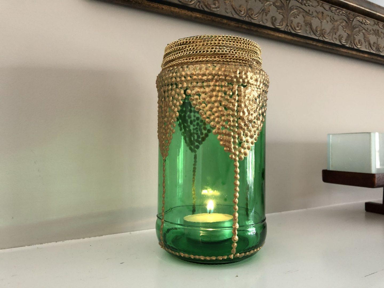 Moroccan-Inspired DIY Lantern