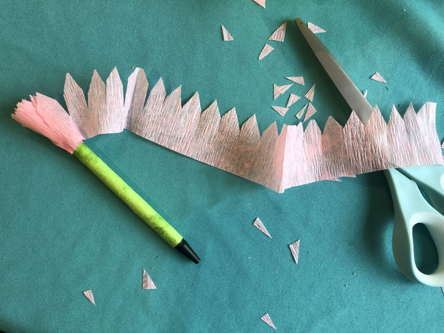 DIY Paper Flower Pen