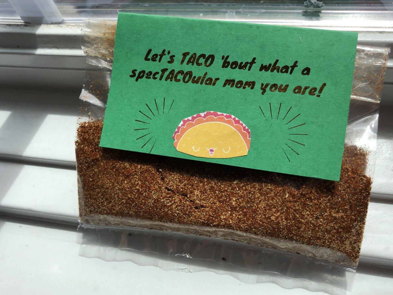 Mother's Day DIY Taco Seasoning