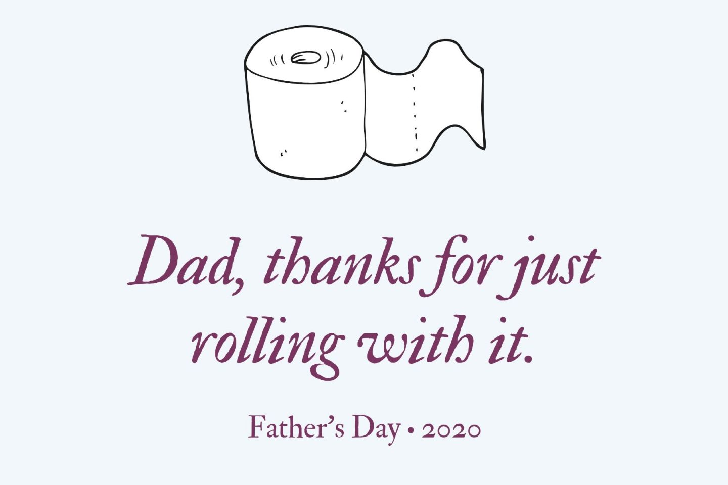 Last-Minute Father's Day Gifts- Toilet Paper Label