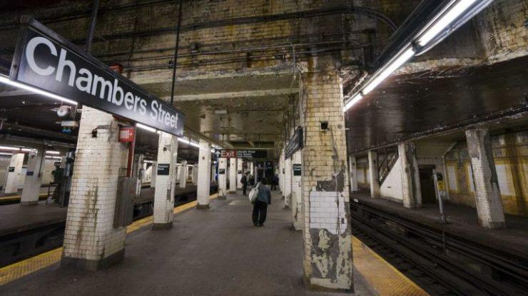 NY Subway Station- Clean with UV Light