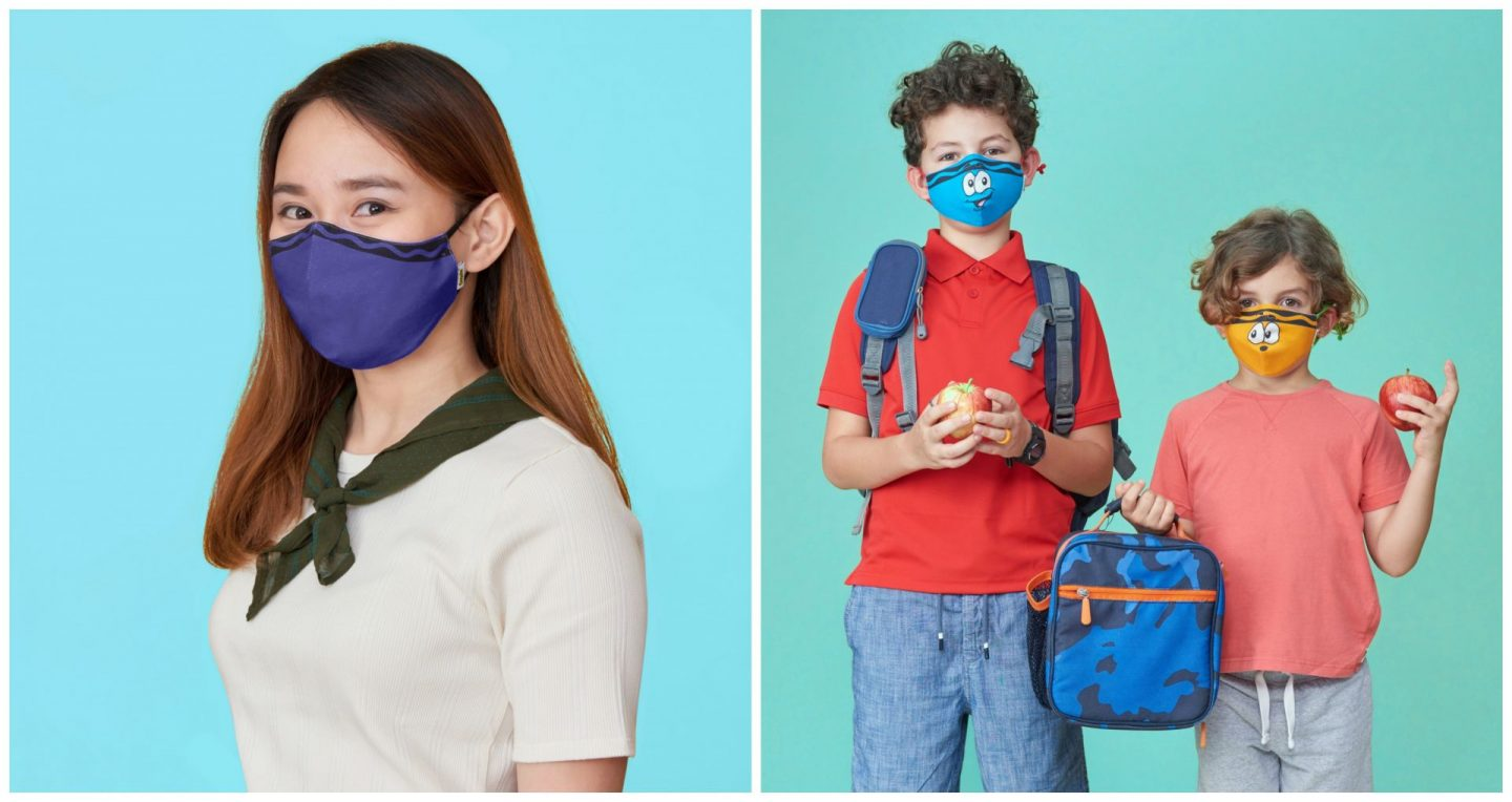 Crayola Reusable Mask Packs for School