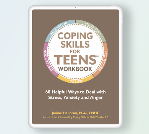 Coping Skills for Teens to handle stress, anxiety and anger