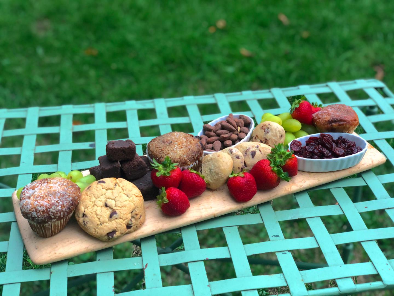 gluten-free dessert charcuterie board