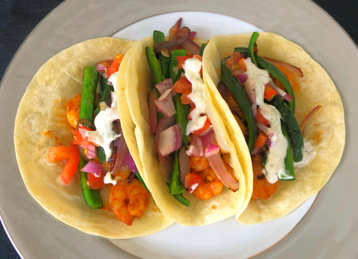 On-the-go meal planning: Shrimp Tacos from Hello Fresh