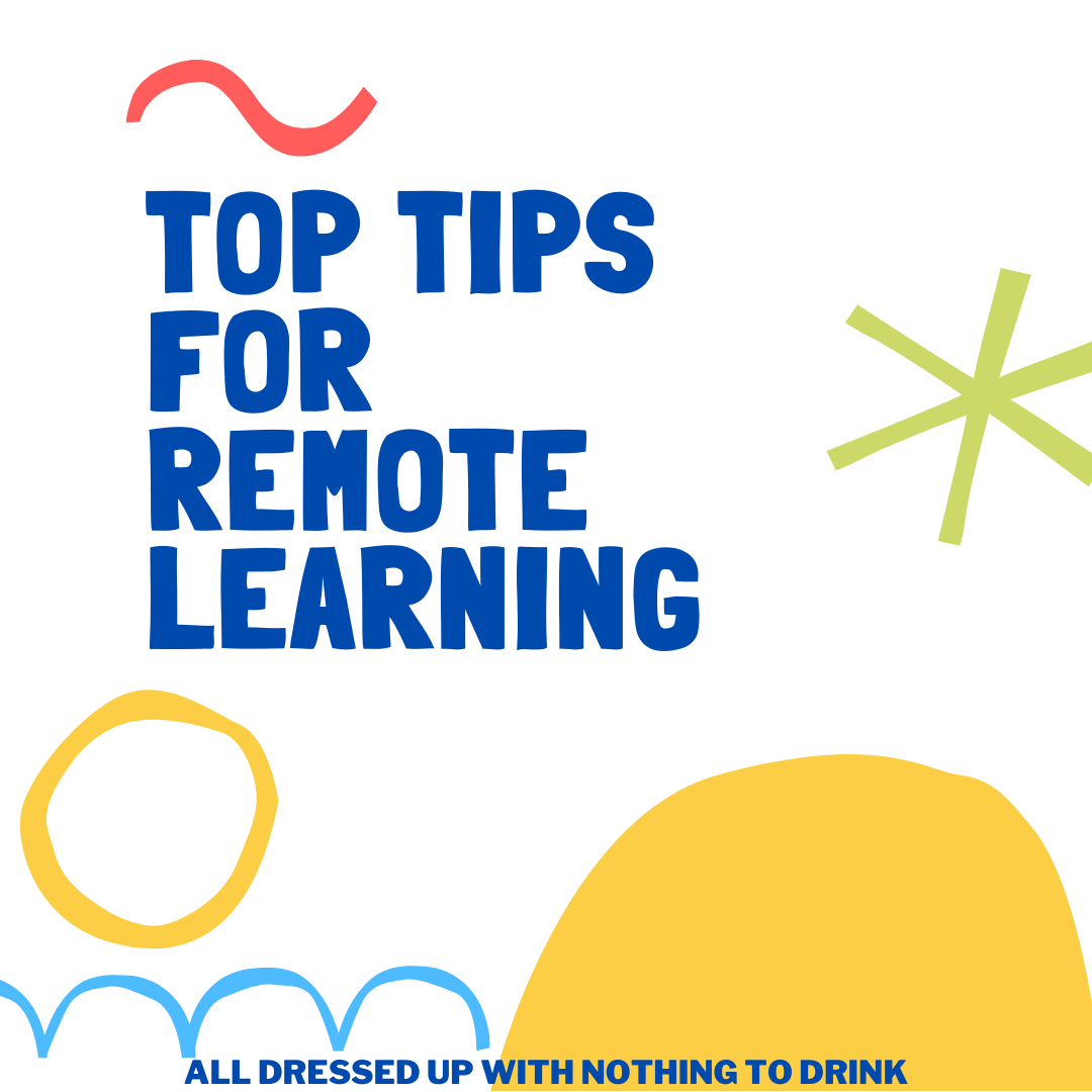 Top tips for remote learning