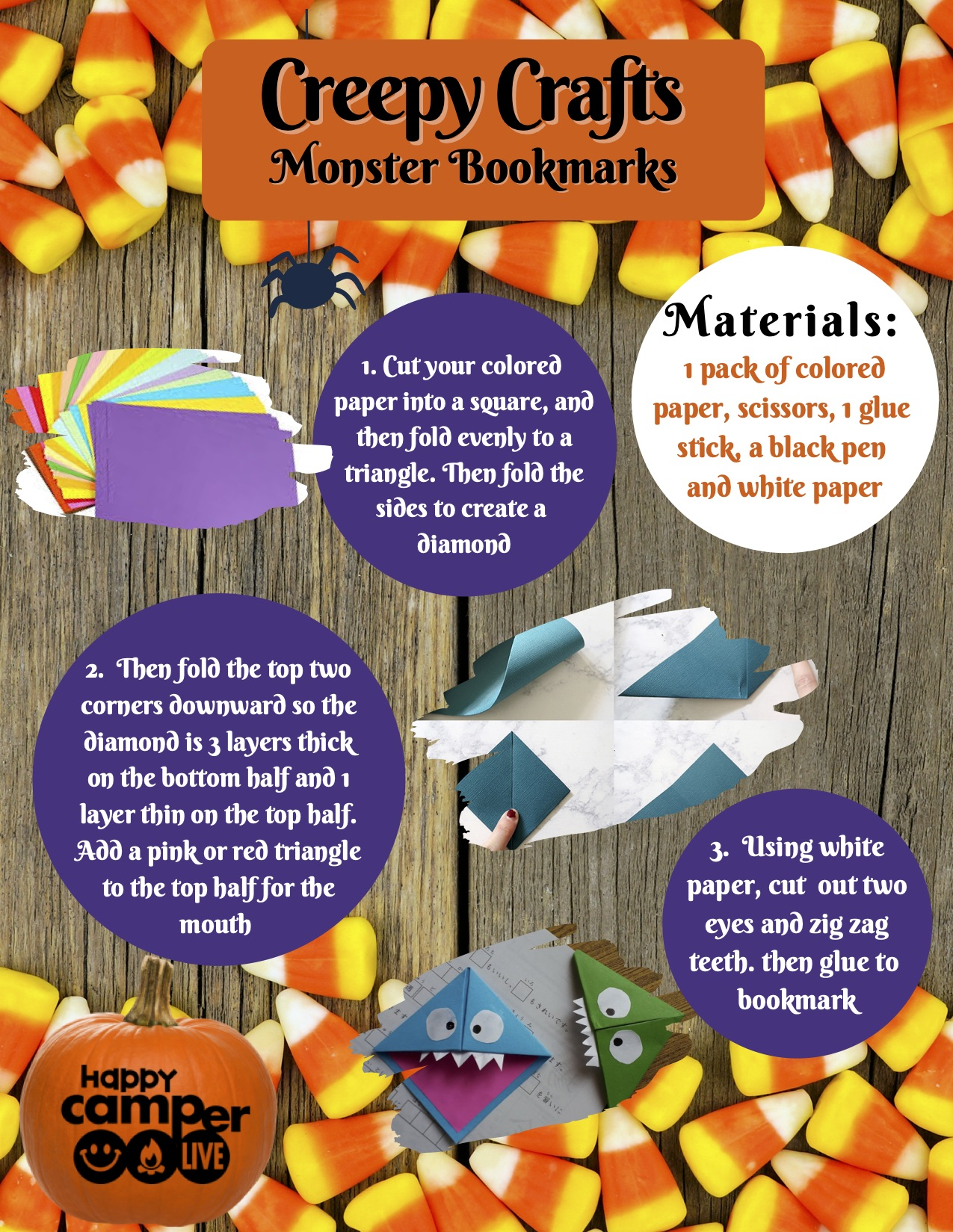 Socially Distant Halloween Party Tips- DIY Crafts