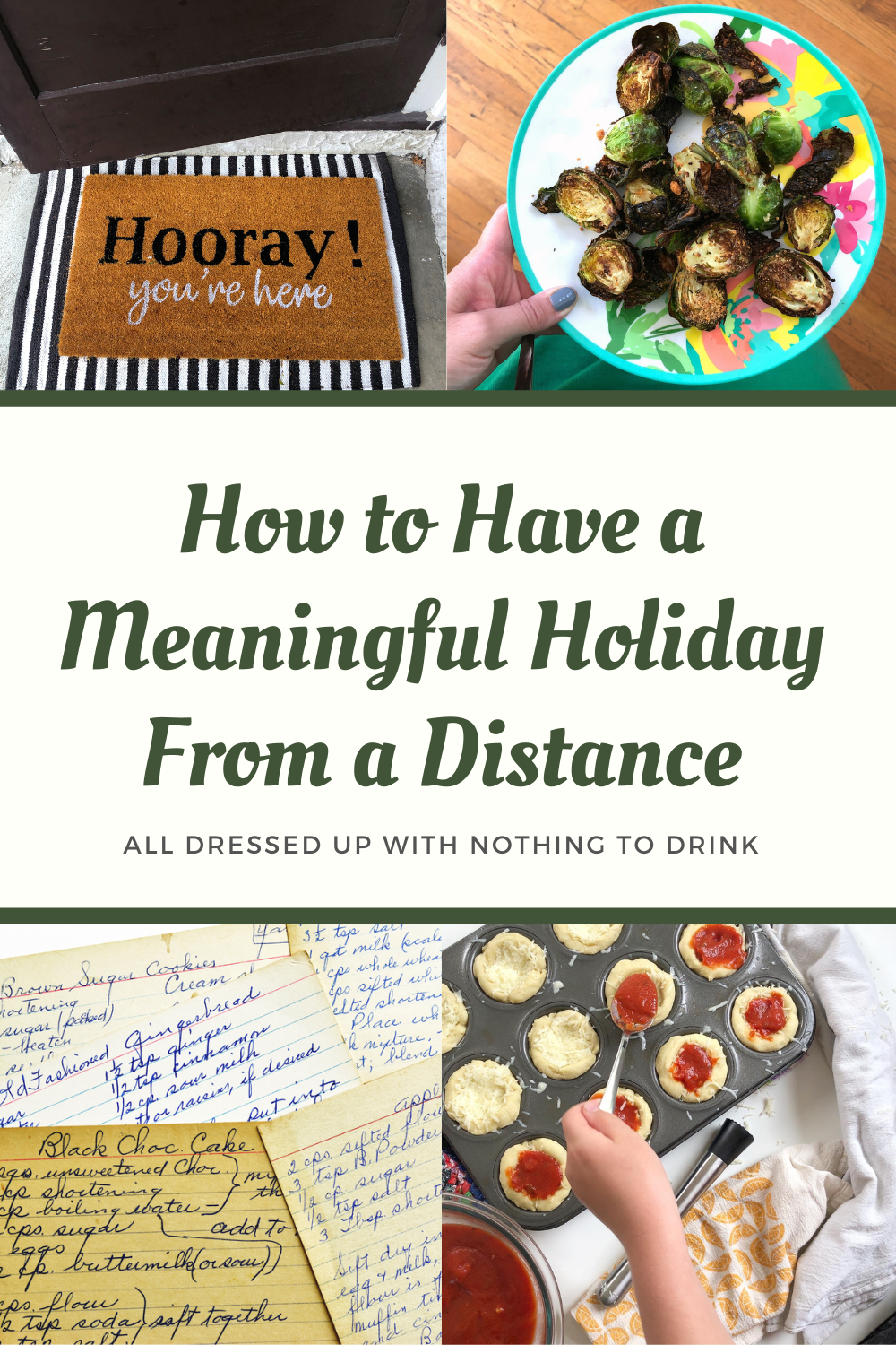 How to have a meaningful holiday from a distance