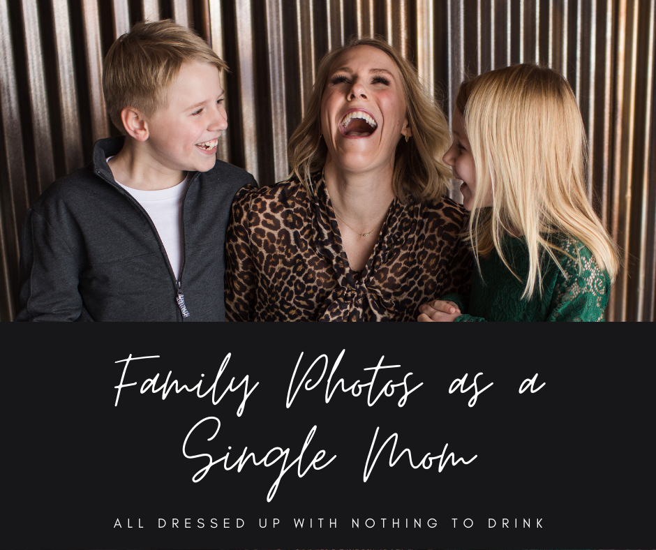 Family Photos as a Single Mom