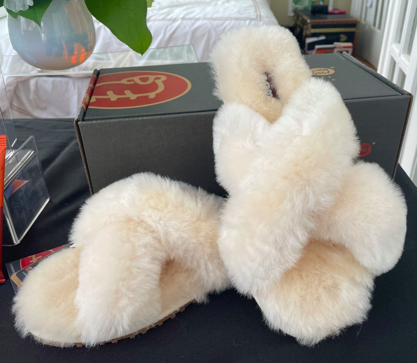 Slippers for Valentine's Day